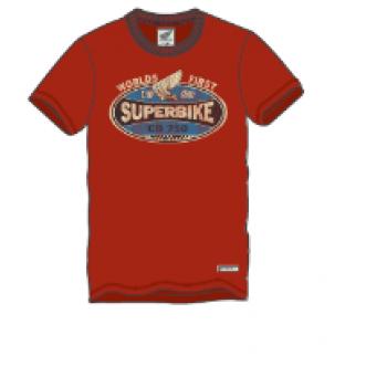 T-SHIRT HONDA VINTAGE SUPERBIKE